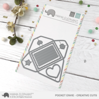 Mama Elephant - Pocket Envie, Creative Cuts, Stanssisetti