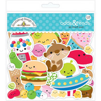 Doodlebug - Odds & Ends Die-Cuts, So Much Pun, 113 osaa
