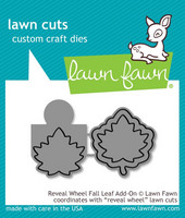 Lawn Fawn - Reveal Wheel Fall Leaf Add-On, Stanssisetti