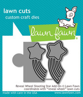 Lawn Fawn - Reveal Wheel Shooting Star Add-On, Stanssisetti
