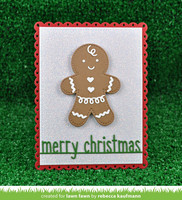 Lawn Fawn - Gingerbread Friends, Stanssisetti