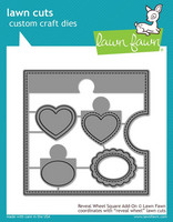 Lawn Fawn - Reveal Wheel Square Add-On, Stanssisetti