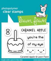 Lawn Fawn - Caramel Apple, Leimasetti