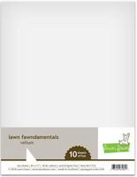 Lawn Fawn - Vellum, 10 arkkia