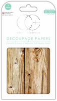 Craft Consortium - Decoupage Papers, Pinewood