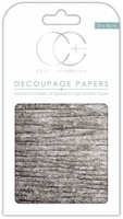 Craft Consortium - Decoupage Papers, White Wood