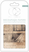 Craft Consortium - Decoupage Papers, Old News