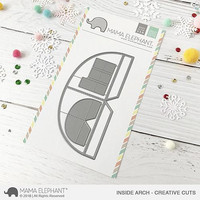 Mama Elephant - Inside Arch, Creative Cuts, Stanssisetti