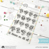 Mama Elephant - LITTLE ELF AGENDA, Leimasetti