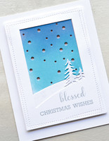 Poppy Stamps - Snowscape, Stanssi