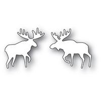 Poppy Stamps - Wilderness Moose Duo, Stanssisetti