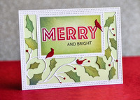 Poppy Stamps - Holly Vine Sidekick Frame, Stanssisetti
