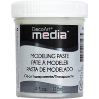 DecoArt - Media Modeling Paste, Kohopasta, 118ml