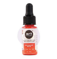 Prima Marketing - Orange Red, Art Philosophy Watercolor Concentrate