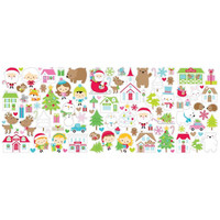 Doodlebug - Christmas Town, Odds & Ends Die-Cuts, 102 osaa