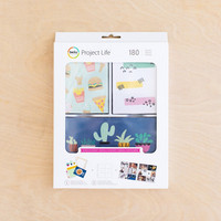 Project Life - Value Kit, Wordless Wonder, 180osaa