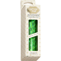 Couture Creations - Go Press and Foil, Green-Iridescent Triangular Pattern (H), 5