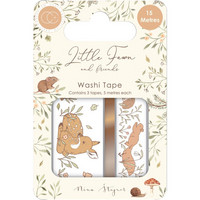 Craft Consortium - Little Fawn & Friends, Washi Tape, 3 rll
