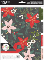 MAMBI - CLASSIC Happy Planner, Christmas Extension Pack, Lisäsivusetti