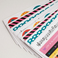 Illustrated Faith - Bright and Brave Washi Stickers