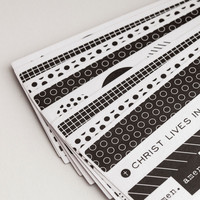 Illustrated Faith - Black & White Washi Stickers