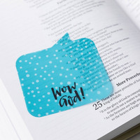 Illustrated Faith - Wow God! Transparent Sticky Notes