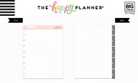 MAMBI - CLASSIC Happy Planner, You Go Girl Dot Grid, Paperisetti