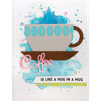Spellbinders - Stanssisetti, Cuppa Coffee, Cuppa Tea-Cup & Beans