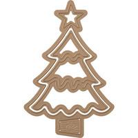 Spellbinders - Stanssisetti, Christmas Tree