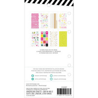 Heidi Swapp - Heidi Swapp Memory Planner Sticker Book, Color Fresh, Icons & Phrases