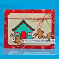 Lawn Fawn - Sweet Christmas, Leimasetti