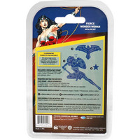 DC Comics - Wonder Woman Die and Face Stamp Set, Fierce Wonder Woman, Stanssisetti