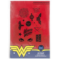 DC Comics - Wonder Woman Stamp Set, Leimasetti