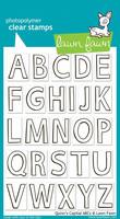 Lawn Fawn - Leimasetti, Lawn Fawn, Quinn's Capital ABCs