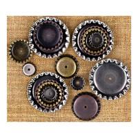 Finnabair - Metal Vintage Trinkets, Bottle Caps, 16kpl