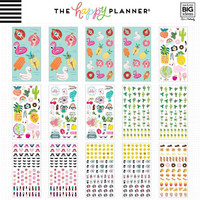 MAMBI - Happy Planner, Mega Value Sticker Pack , Tarrasetti, 100arkkia