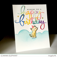 Mama Elephant - Creative Cuts Birthday Script, Stanssi