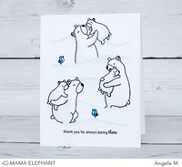 Mama Elephant - Hillside Cover, Creative Cuts, Stanssi