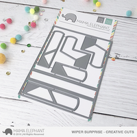 Mama Elephant - Wiper Surprise, Creative Cuts, Stanssi