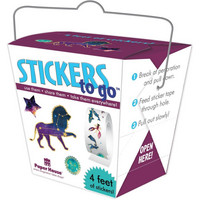 Paper House - Stickers To Go 4ft Roll, Celestial, Tarrasetti