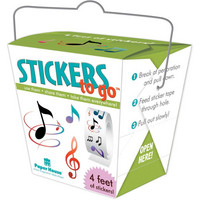 Paper House - Stickers To Go 4ft Roll, Music, Tarrasetti
