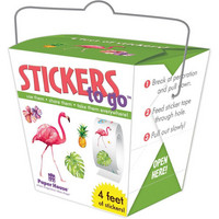 Paper House - Stickers To Go 4ft Roll, Tropical, Tarrasetti