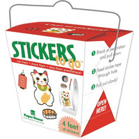 Paper House - Stickers To Go 4ft Roll, Lucky Cat, Tarrasetti