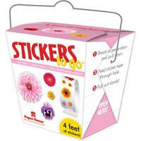 Paper House - Stickers To Go 4ft Roll, Flowers, Tarrasetti