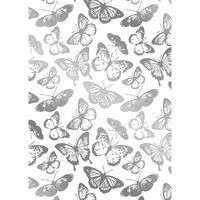 Gemini - Foil Stamp Die Elements, Beautiful Butterflies Background