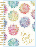 Paper House - Watercolor Mandala 12 Month Mini Planner, Kalenteri