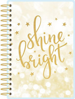 Paper House - Shine Bright 12 Month Mini Planner, Kalenteri
