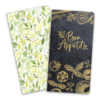 Paper House - Meal Planning, Journey Book Insert Set, Vihkosetti