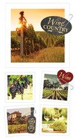 Paper House - Wine Country Snapshot Sticker, Tarrasetti, 2arkkia