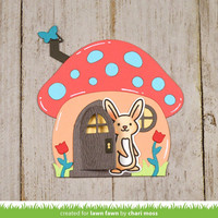 Lawn Fawn - Mushroom House, Stanssisetti